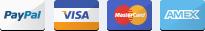 paypal, visa card, master card, amex