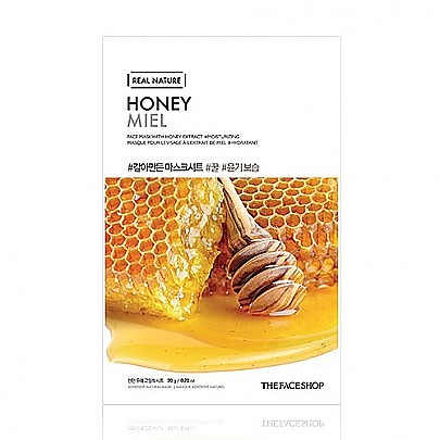 [The face shop] Natural Mask- Honey 23ml