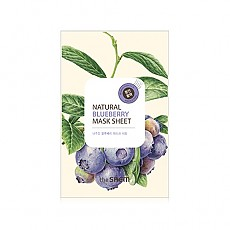 [The saem] Маска с экстрактом голубики Natural Blueberry Mask Sheet