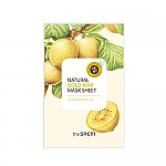 [The saem] Маска для лица с экстрактом киви Natural Gold Kiwi Mask Sheet