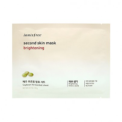 [Innisfree] Second Skin Mask Sheet Brightening 20g