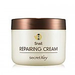[SecretKey] Крем для лица с экстрактом муцина улитки Snail Repairing Cream 50гр (Skin Protection , Firming and Vitalizing , For Brightening)