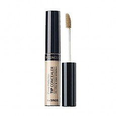 [The saem] Консилер Cover Perfection Tip Concealer #01 (Clear Beige)