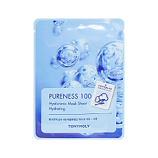 [Tonymoly] Маска для лица Pureness 100 Mask Sheet #Hyaluronic