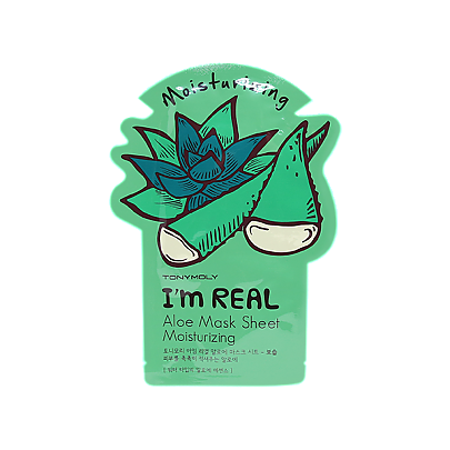 [Tonymoly] Тканевая маска I`m REAL Aloe Mask Sheet Moisturizing