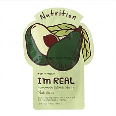 [Tonymoly] Тканевая маска I`m REAL Avocado Mask Sheet Nutrition