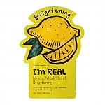 [Tonymoly] Тканевая маска I`m REAL Lemon Mask Sheet Brightening