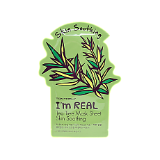 [Tonymoly]Тканевая маска I`m REAL Tea Tree Mask Sheet Skin Soothing