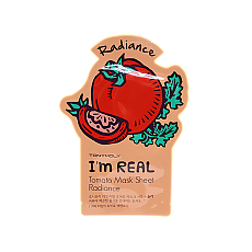 [Tonymoly] Тканевая маска I`m REAL Tomato Mask Sheet Radiance