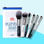 [CORINGCO] Набор кистей Marine Blue Make Up Brush Collection 6шт