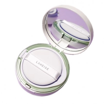[Laneige] Skin Veil Base Cushion No.60 (Light Green) SPF22 PA++