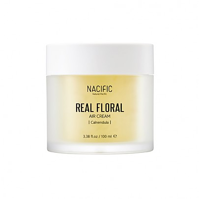 [Nacific] Крем для лица с экстрактом календулы Real Floral Air Cream 100 мл