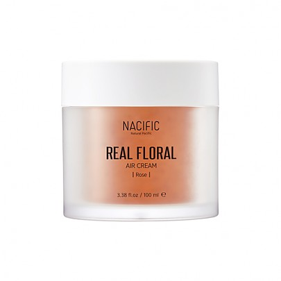 [Natural Pacific] Крем для лица с экстрактом розы Real Floral Air Cream 100мл (Роза)