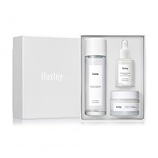 [Huxley] Набор Routine; Brightening Trio (Тонер Extract it 120ml,Эссенция Brightly Ever After,Крем для лица Glow Awakening)