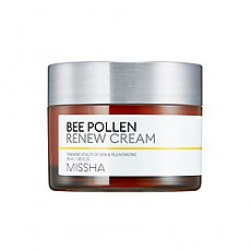 [Missha] Восстанавливающий крем Bee Pollen Renew Cream