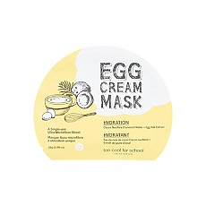 [Too Cool For School] Маска для лица Egg Cream Mask 5шт