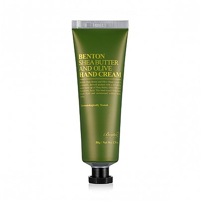 [Benton] Крем для рук Shea Butter and Olive Hand Cream 50г
