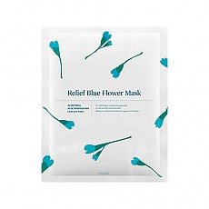 [HYGGEE] Тканевая маска Relief Blue Flower Mask 10шт