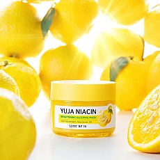 [Some by mi] Ночная осветляющая маска Yuja Niacin 30 Days Miracle Brightening Sleeping Mask 60г