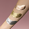 [Double dare (OMG)] Патчи OMG! Foil Eye Patch Gold 1шт