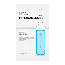 [Missha] Mascure Calming solution sheet mask
