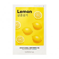 [Missha] AIry Fit Sheet Mask # Lemon