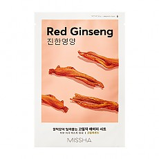[Missha] Маска с Женьшенем AIry Fit Sheet Mask # Red Ginseng