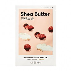 [Missha] Маска с маслом Ши AIry Fit Sheet Mask # Shea Butter