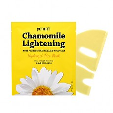 [Petitfee] Осветляющая маска Chamomile Lightening Hydrogel Face Mask 5шт