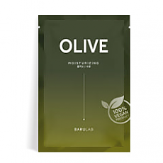 [Barulab] The Clean Vegan OLIVE Mask 10pc