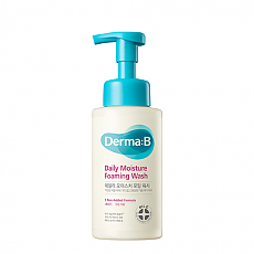 [Derma-B] Очищающая пенка Daily Moisture Foaming Wash 380ml