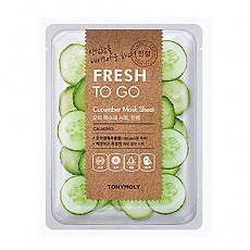 [Tonymoly] Fresh To Go Cucumber Mask Sheet
