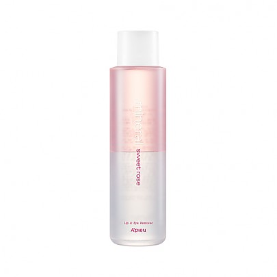 [A'PIEU] Mineral Lip&Eye Remover(Sweet Rose)(Large Volume) 250ml