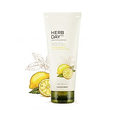 [THE FACE SHOP] Herbday 365 cleansing foam Lemon&Grapefruit