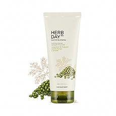 [THE FACE SHOP] Herbday 365 cleansing foam Mungbeans&Mugwort