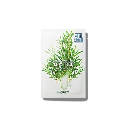 [the SAEM] Natural Tea Tree Mask Sheet