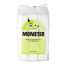 [Etude House] Ватные диски Monster Cleansing Cotton (408 шт)
