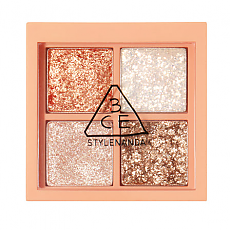 [3CE] MINI MULTI EYE COLOR PALETTE #GLITTER BOMB