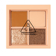 [3CE] MINI MULTI EYE COLOR PALETTE #ALMOND FUDGE