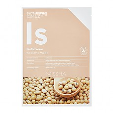 [Missha] PHYTO-CHEMICAL SKIN SUPPLEMENT SHEET MASK Isoflavone 25ml