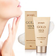 [Petitfee] Крем для шеи Gold Neck Cream 50гр