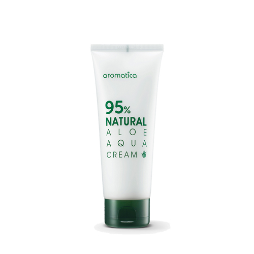 [Aromatica] Крем для лица с экстрактом Алоэ 95% Natural Aloe Aqua Cream