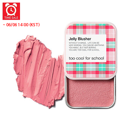 [Too Cool For School] Румяна Check Jelly Blusher #06 (Rose Moose)