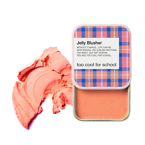 [Too Cool For School] Румяна Check Jelly Blusher #02 (Apricot Sherbet)
