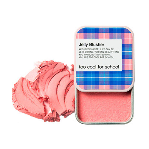 [Too Cool For School] Румяна Check Jelly Blusher #01 (Strawberry Chou)
