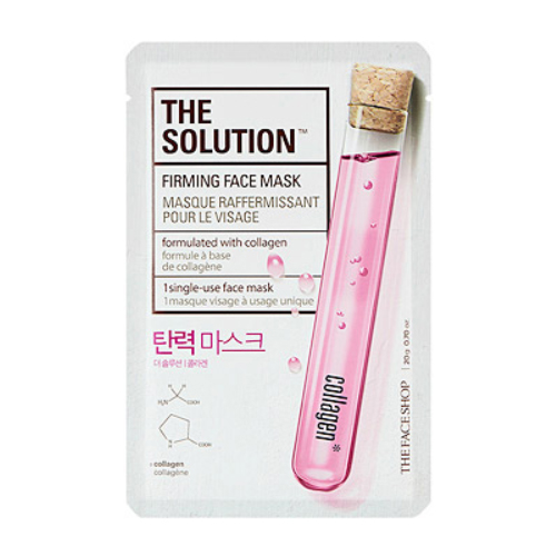 [The Face Shop] The Solution Firming Face Mask